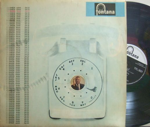 【英Fontana mono】J. J. Johnson/Dial J.J. 5 (Tommy Flanagan, Elvin Jones, Bobby Jaspar, etc)