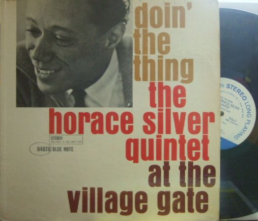 【米Blue Note NY】Horace Silver/Doin' The Thing