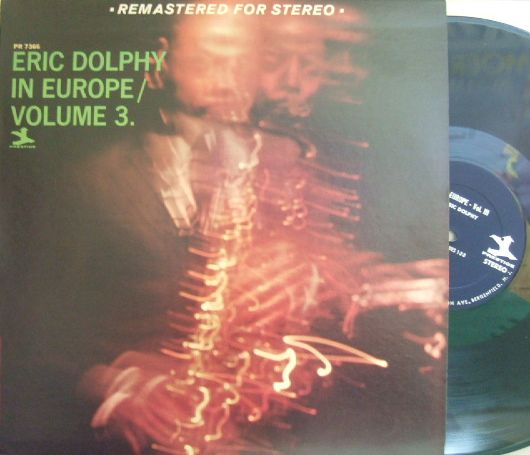 【米Prestige】Eric Dolphy/In Europe volume 3