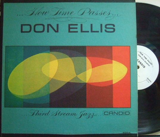 【米Candid mono】Don Ellis/How Time Passes (Jaki Byard. Rpm Carter. etc)  (promo)