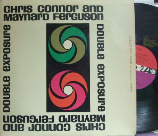 【米Atlantic mono】Chris Connor and Maynard Ferguson/Double Exposure