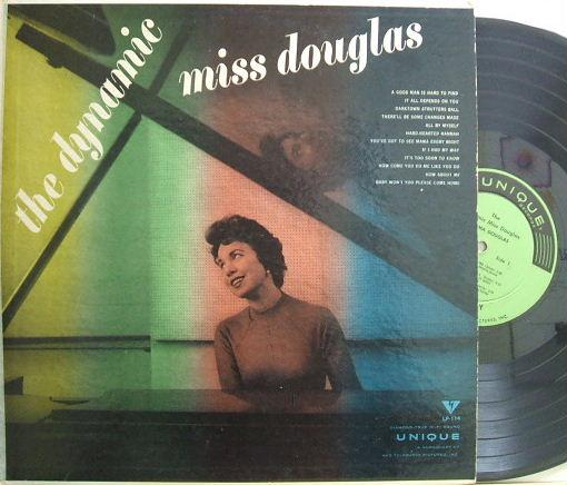 【米Unique mono】Norma Douglas/The Dynamic Miss Douglas