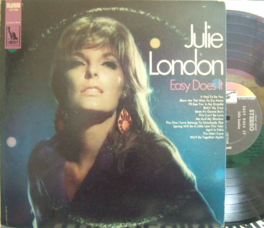 【米Liberty】Julie London/Easy Does It