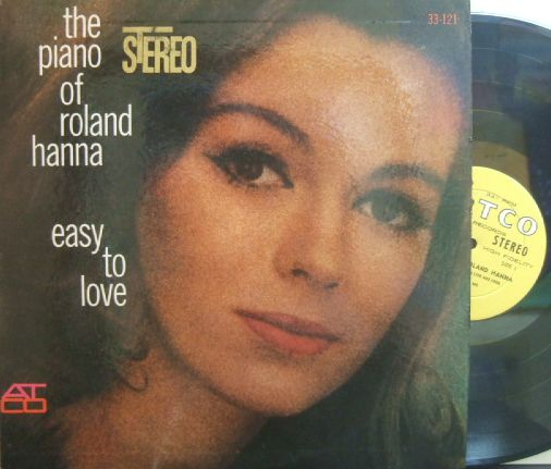 【米Atco mono】Roland Hanna/Easy To Love