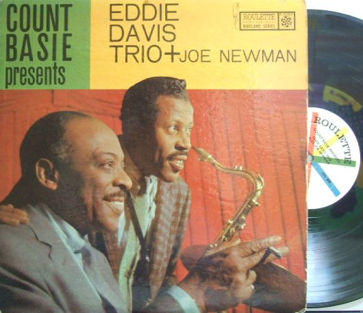 【米Roulette mono】Eddie Lockjaw Davis/Count Basie Presents Eddie Davis Trio + Joe Newman (Shirley Scott, etc)