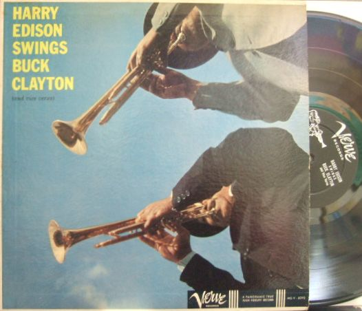 【米Verve mono】Harry Edison & Buck Clayton/Harry Edison Swings Buck Clayton and Vice Versa (Jimmy Forrest, Eddie Costa, etc)