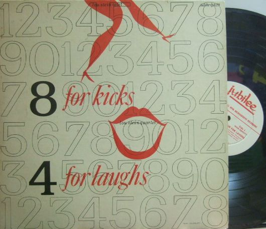 【米Jubilee mono】Lou Stein/8 for Kicks 4 for Laughs (Peanut Hucko, Tony Mottola, etc) promo