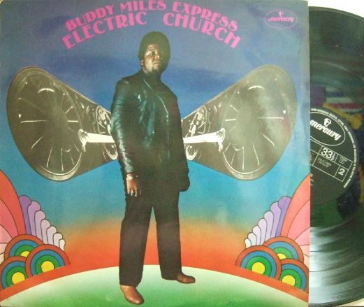 【英Mercury】Buddy Miles Express/Electric Church (produced by Jimi Hendrix)