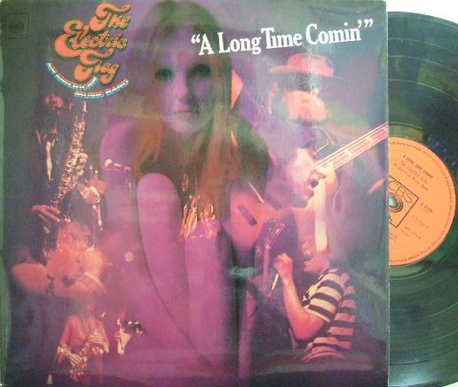 【英CBS】The Electric Flag/A Long Time Comin' (Mike Bloomfield, Harvey Brooks, Nick Gravenites, etc)