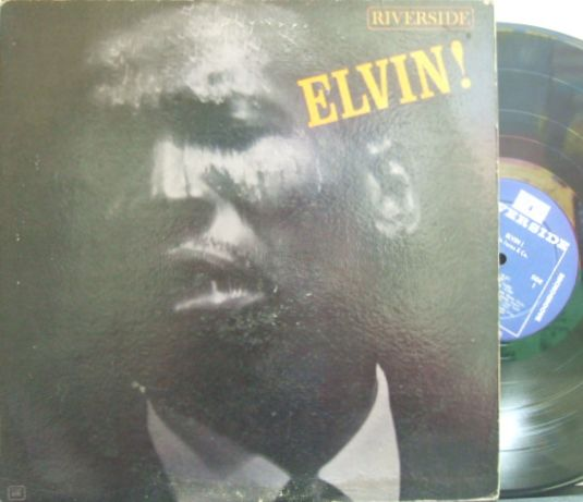 【米Riverside mono】Elvin Jones/Elvin! (Thad Jones, Hank Jones, Frank Wess, Frank Foster, etc)