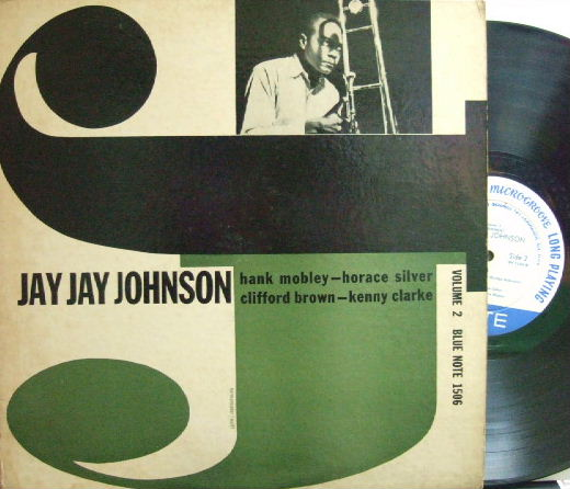 【米Blue Note Lexington mono】Jay Jay Johnson/The Eminent vol.2 (Clifford Brown, Wynton Kelly, etc)