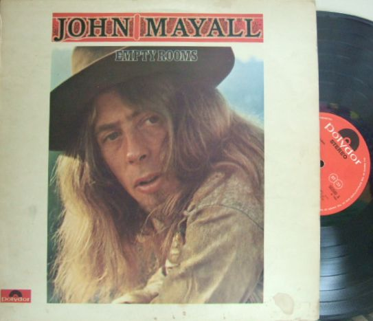 【英Polydor】John Mayall/Empty Rooms (Jon Mark, Johnny Almond, Larry Taylor)
