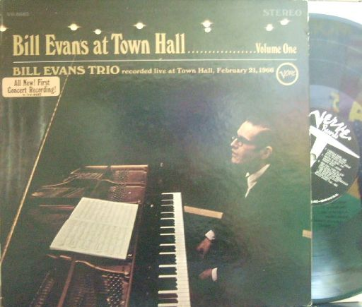 【米Verve】Bill Evans/At Town Hall vol.one