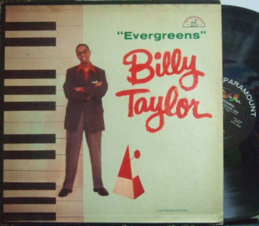 【米ABC Paramount mono】Billy Taylor/Evergreens