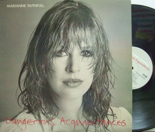 【英Island】Marianne Faithfull/Dangerous Acquaintances (Mel Collins, Steve Winwood)