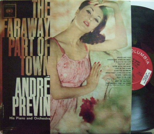 【米Columbia mono】Andre Previn/The Faraway Part of Town (promo)