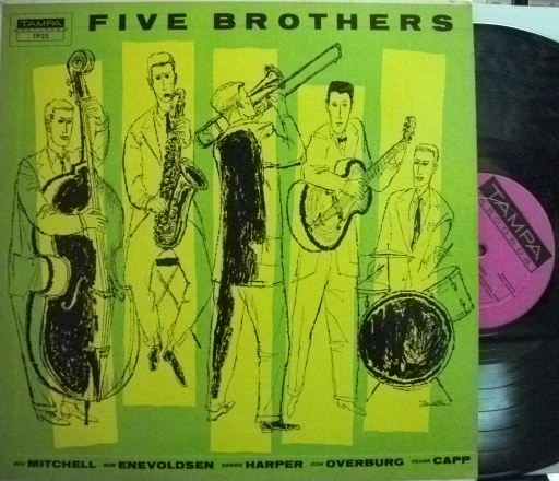 【米Tampa mono】Red Mitchell, Herbie Harper, Bob Enevoldsen, etc/Five Brothers