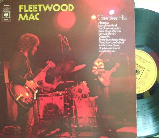 【英CBS】Fleetwood Mac/Greatest Hits