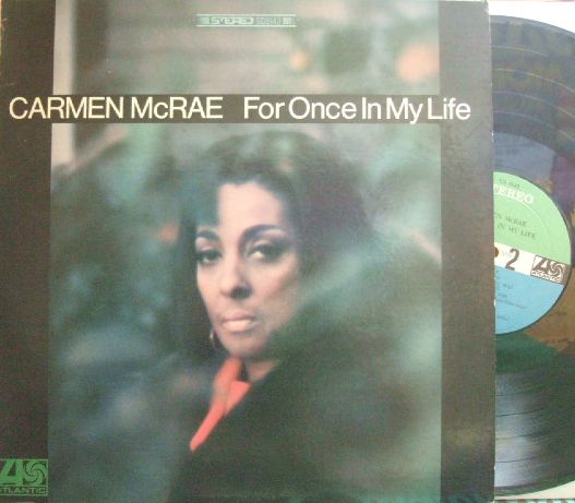 【米Atlantic】Carmen McRae/For Once In My Life