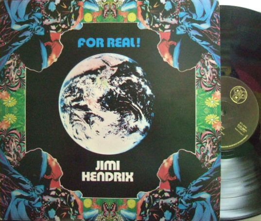 【英DJM】Jimi Hendrix/For Real (2LP) レア