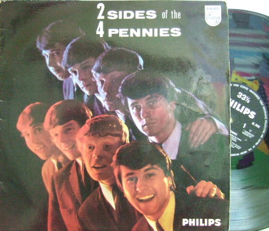 【英Philips mono】The Four Pennies/2 Sides of 4 Pennies