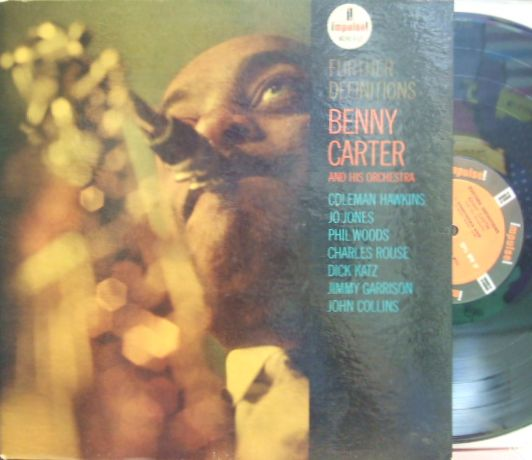 【米Impulse mono】Benny Carter/Further Definitions (Coleman Hawkins, Charlie Rouse, Phil Woods, etc)