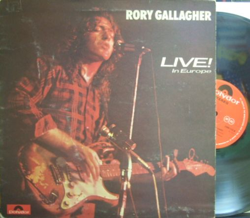 【英Polydor】Rory Gallagher (Taste)/Live! In Europe