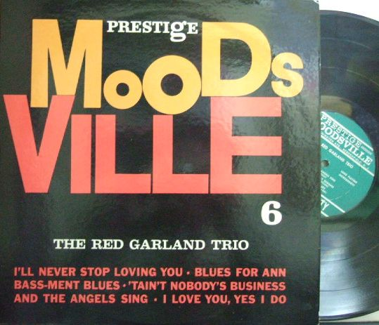 【米Moodsville mono】Red Garland Trio/Same