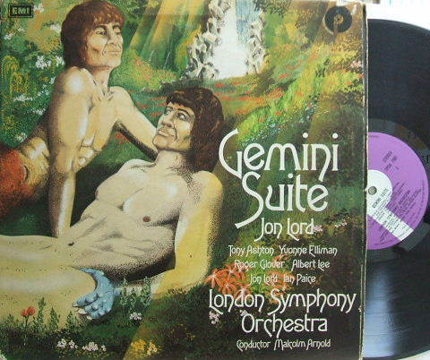 【英Purple】Jon Lord/Gemini Suite (Tony Ashton, Albert Lee, etc) グラモフォン・リム