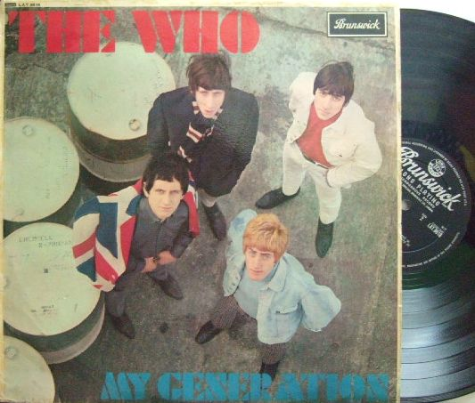【英Brunswick mono】The Who/My Generation