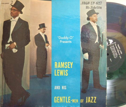 【米Argo mono】Ramsey Lewis Trio/Gentlemen of Jazz
