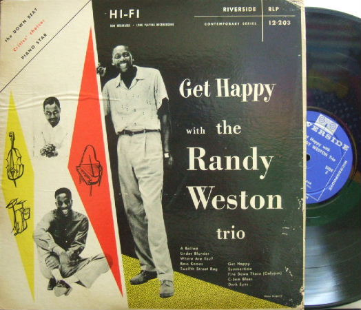 【米Riverside mono】Randy Weston/Get Happy