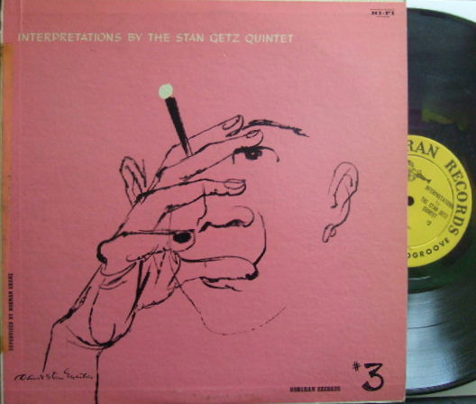 【米Norgran mono】Stan Getz/Interpretations #3