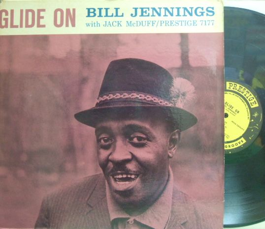 【米Prestige mono】Bill Jennings/Glide On (with Jack McDuff)