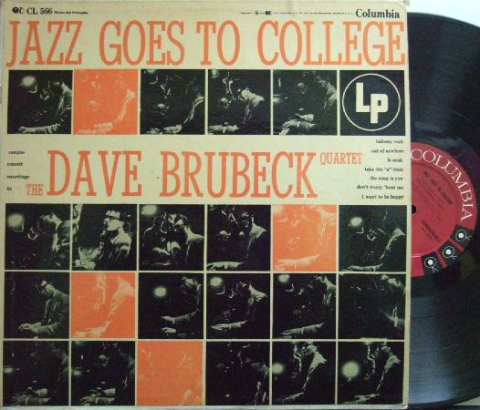 【米Columbia mono】Dave Brubeck/Jazz Goes To College