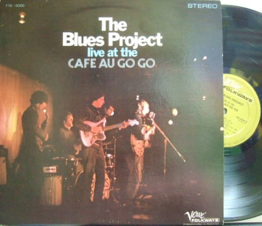 【米Verve/Folkways】Blues Project/Live At The Cafe Au Go Go (Al Kooper)