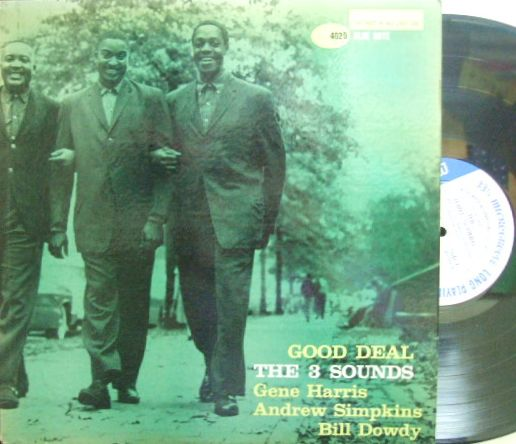【米Blue Note 47w63rd mono】3 Sounds/Good Deal