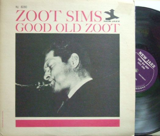 【米New Jazz mono】Zoot Sims/Good Old Zoot (Kenny Drew, etc)