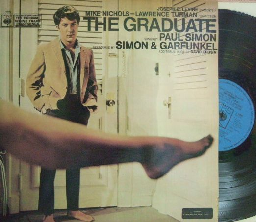 【英CBS】Simon & Garfunkel, Dave Grusin, etc/The Graduate