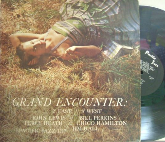 【米Pacific Jazz mono】John Lewis, Bill Perkins, Jim Hall, etc/Grand Encounter