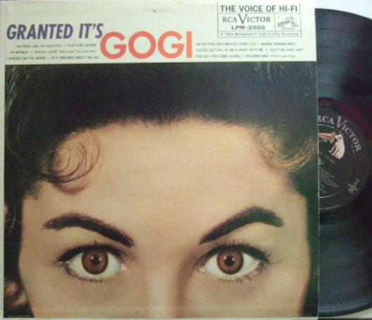 【米RCA Victor mono】Gogi Grant/Granted It's Gogi