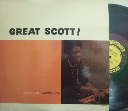 【米Prestige mono】Shirley Scott/Great Scott!