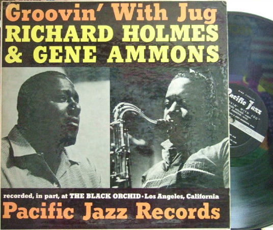【米Pacific Jazz mono】Richard Holmes & Gene Ammons/Groovin' With Jug