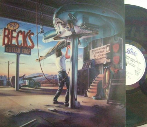 【英Epic】Jeff Beck/Beck's Guitar Shop