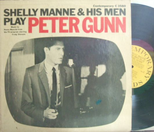 【米Contemporary mono】Shelly Manne & His Men/Peter Gunn (Conte Candoli, Russ Freeman, Victor Feldman, etc)