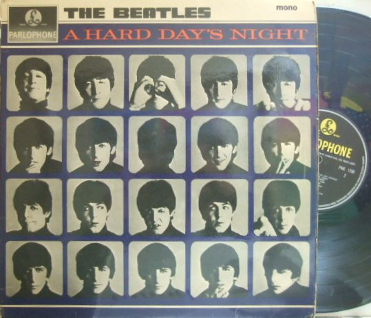 【英Parlophone mono】The Beatles/Hard Days Night
