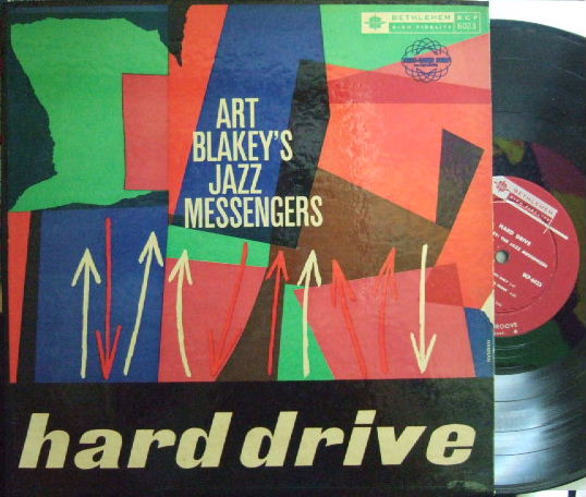 【米Bethlehem mono】Art Blakey's Jazz Messengers/Hard Drive (Bill Hardman, Johnny Griffin, Junior Mance)