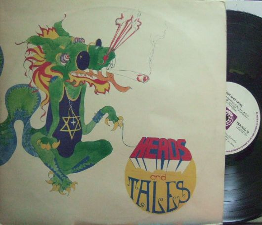 【英Transatlantic】Various Artists/Heads & Tales (Jody Grind, Stray, The Pentangle, Ralph McTell, etc) 2LP