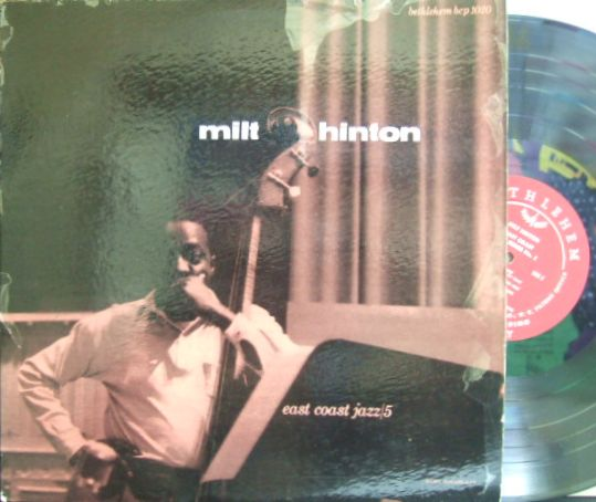 【米Bethlehem mono】Milt Hinton/East Coast jazz Series#5