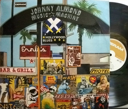 【英Deram mono】Johnny Almond & Music Machine/Hollywood Blues (Joe Pass, etc)